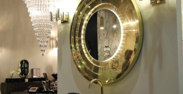 Gold Mirror This Contemporary Gold Mirror Does Wonders for a Bathroom Interior featured 10 370x190