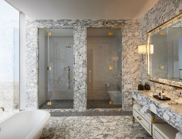 bathroom decor Bathroom Decor through the Eyes of World-Famous Interior Designers featured 14 600x460