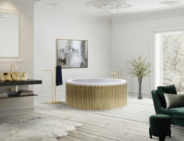 bathroom ideas See Stylish Bathroom Ideas that Have Brass as the Main Decor Detail featured 3 600x460