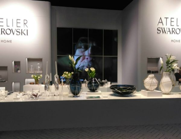 atelier swarovski home Atelier Swarovski Home Debuts Its In-House Collection at M&O Paris featured 11 600x460