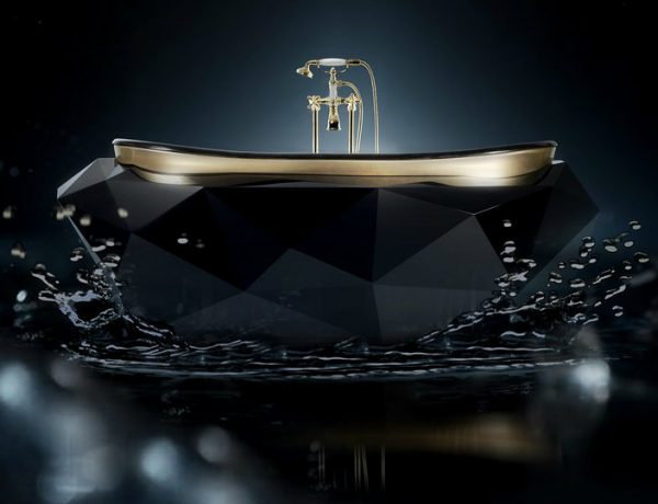 black bathroom vanities Stunning Matte Black Bathroom Vanities For Your Design Project Stunning Matte Black Bathroom Vanities For Your Design Project capa 600x460