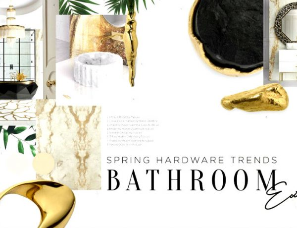 spring hardware trends See The Spring Hardware Trends That Perfect For Your Bathroom Design See The Spring Hardware Trends That Perfect For Your Bathroom Design capa 600x460