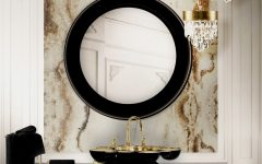 Create A Trendy Luxury Bathroom Design With These 12 Wallpaper Ideas