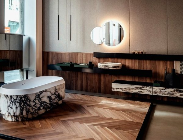 See Patricia Urquiola's Newest Bathroom Furniture Collection For Agape