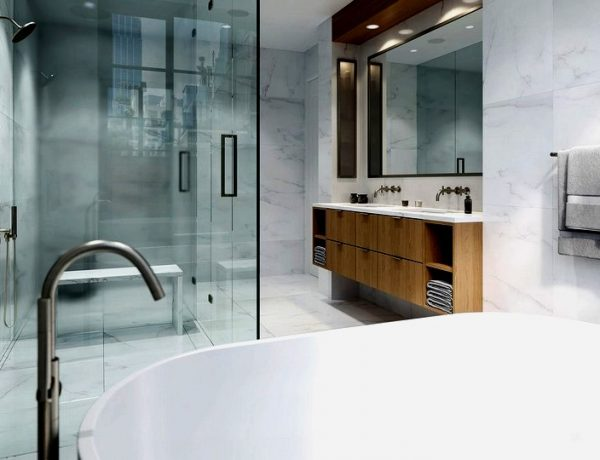 Meshberg Group Are Known For Their Minimalistic Bathrooms Designs
