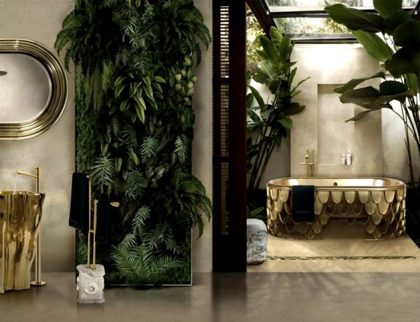 Be Inspired By These Top Luxury Bathroom Design Ideas For 2020 luxury bathroom design Luxury Bathroom Design: Be Inspired By These Top Ideas For 2020 Be Inspired By These Top Luxury Bathroom Design Ideas For 2020 capa 600x460