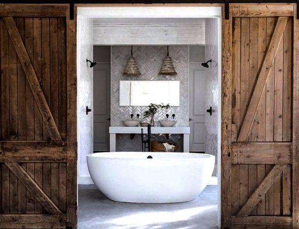 Inside Leanne Ford's Rock the Block Master Bathroom Design