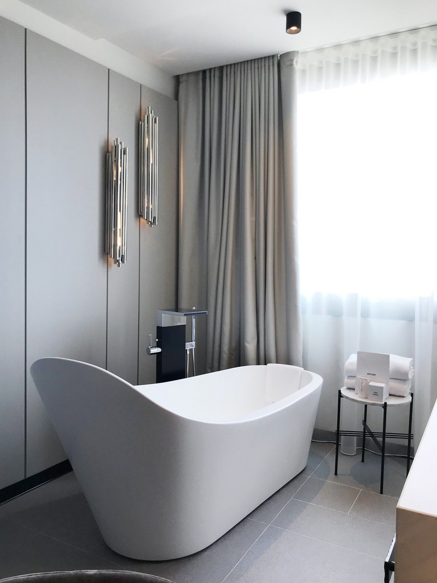 MOEM Studio Created Mid-Century Bathrooms For Barcelona's Sofia Hotel moem studio MOEM Studio Created Mid-Century Bathrooms For Barcelona's Sofia Hotel MOEM Studio Created Mid Century Bathrooms For Barcelonas Sofia Hotel 5