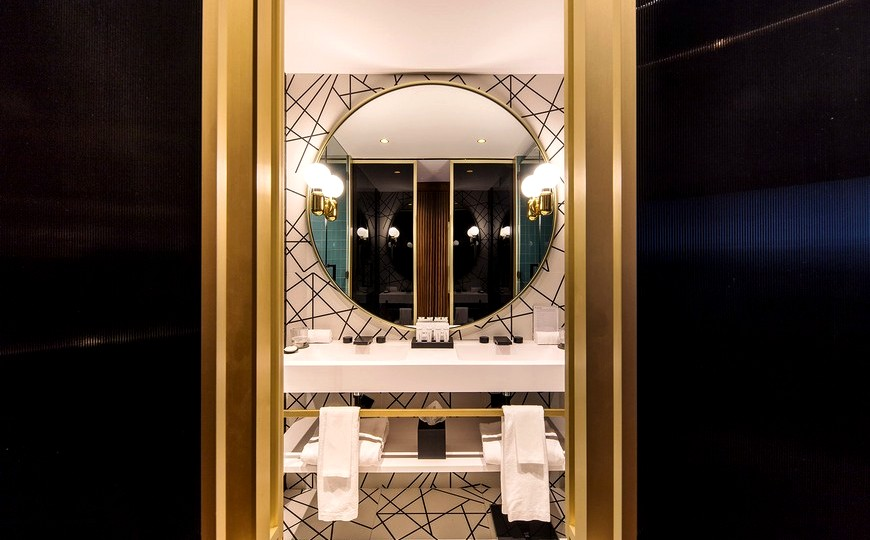 MOEM Studio Created Mid-Century Bathrooms For Barcelona's Sofia Hotel moem studio MOEM Studio Created Mid-Century Bathrooms For Barcelona's Sofia Hotel MOEM Studio Created Mid Century Bathrooms For Barcelonas Sofia Hotel capa