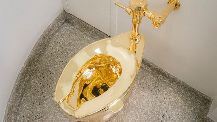 Maurizio Cattelan Is The Author Of The World's Most Expensive Toilet maurizio cattelan Maurizio Cattelan Is The Author Of The World's Most Expensive Toilet Maurizio Cattelan Is The Author Of The Worlds Most Expensive Toilet 3