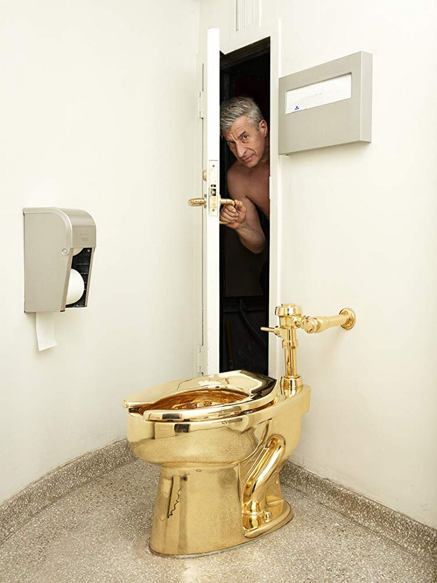 Maurizio Cattelan Is The Author Of The World's Most Expensive Toilet maurizio cattelan Maurizio Cattelan Is The Author Of The World's Most Expensive Toilet Maurizio Cattelan Is The Author Of The Worlds Most Expensive Toilet 6