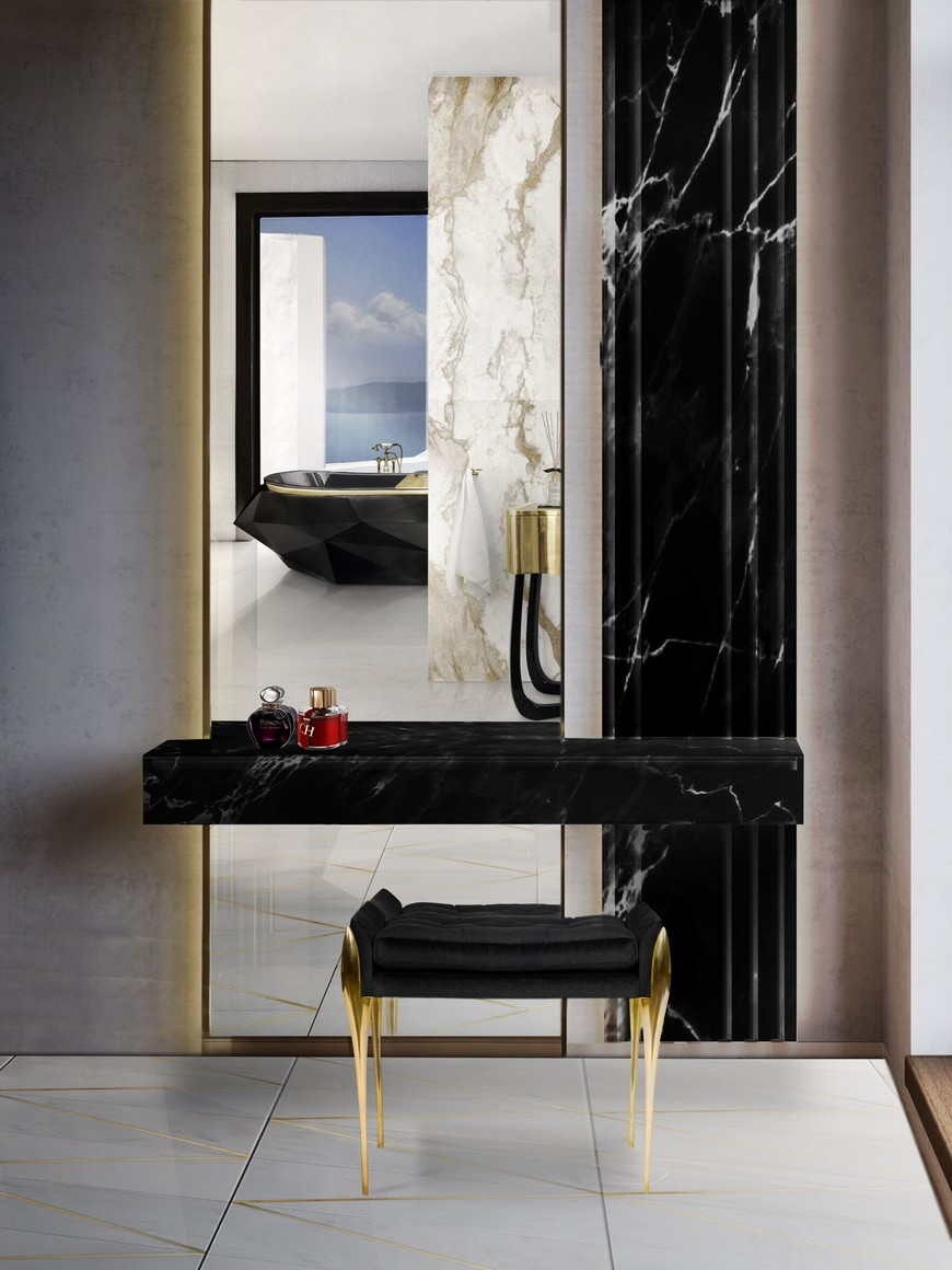 Sophia Bush Shows You How To Decorate A Dramatic Bathroom Design sophia bush Sophia Bush Shows You How To Decorate A Dramatic Bathroom Design Sophia Bush Shows You How To Decorate A Dramatic Bathroom Design 3