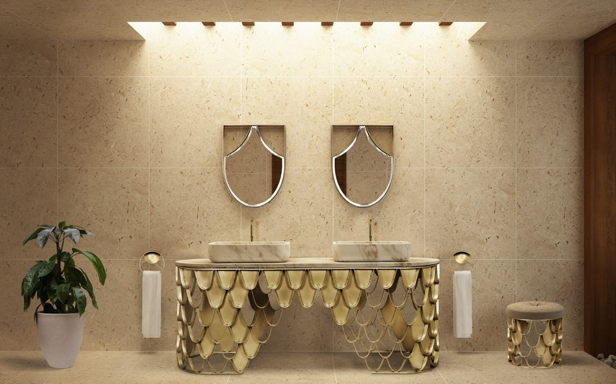 Be Inspired By These Top Luxury Bathroom Design Ideas For 2020 luxury bathroom design Luxury Bathroom Design: Be Inspired By These Top Ideas For 2020 Washbasins