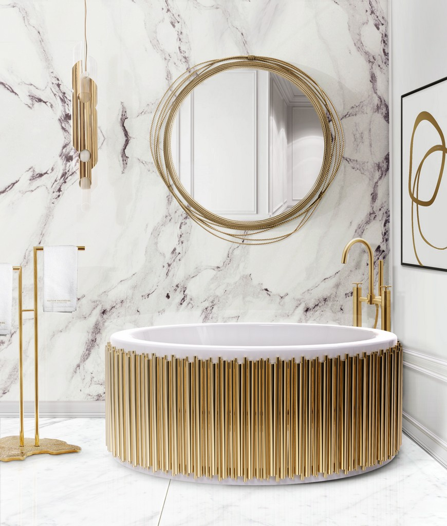 Be Inspired By These Top Luxury Bathroom Design Ideas For 2020 luxury bathroom design Luxury Bathroom Design: Be Inspired By These Top Ideas For 2020 bathtubs 3