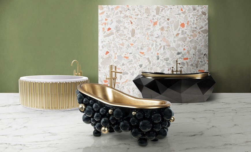 Be Inspired By These Top Luxury Bathroom Design Ideas For 2020 luxury bathroom design Luxury Bathroom Design: Be Inspired By These Top Ideas For 2020 bathtubs