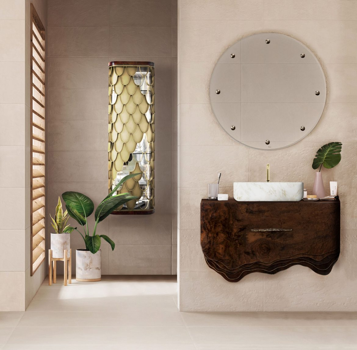 Be Inspired By These Top Luxury Bathroom Design Ideas For 2020 luxury bathroom design Be Inspired By These Top Luxury Bathroom Design Ideas For 2020 case goods 6