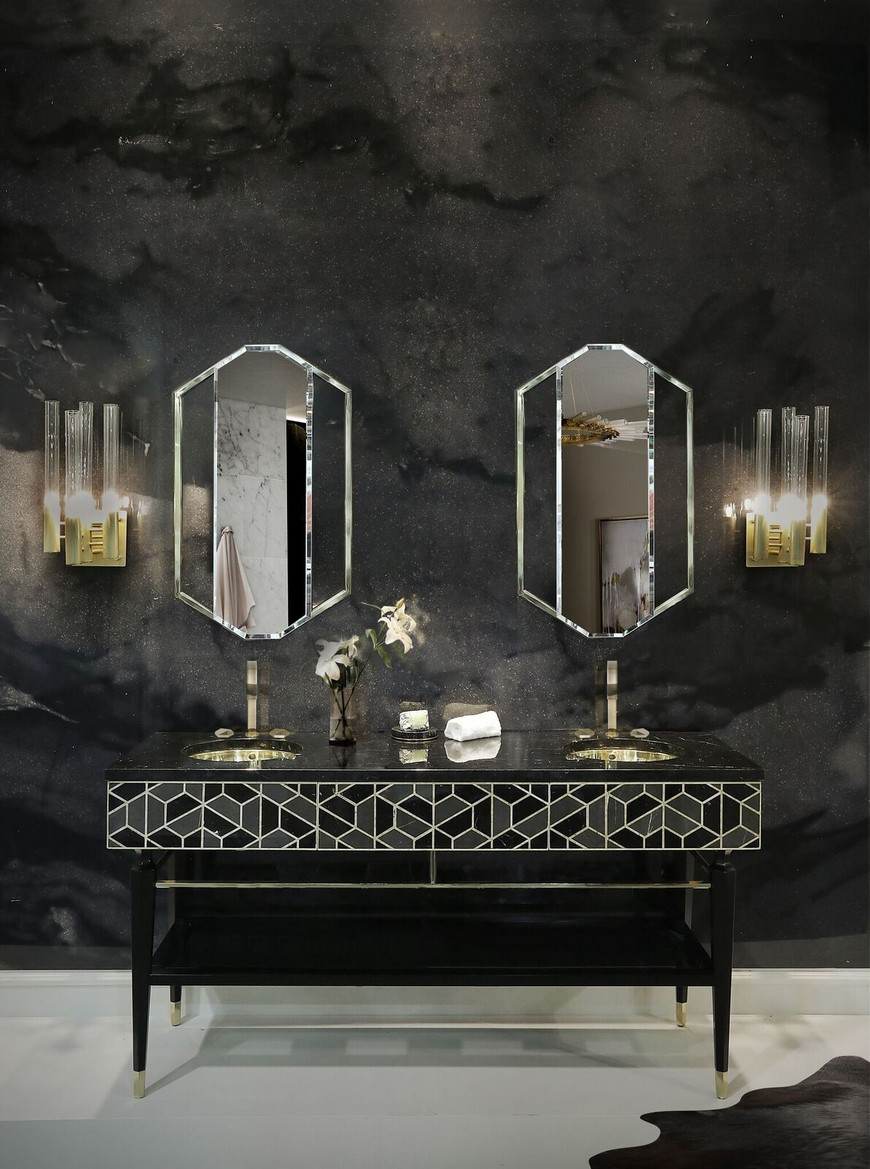 Be Inspired By These Top Luxury Bathroom Design Ideas For 2020 luxury bathroom design Be Inspired By These Top Luxury Bathroom Design Ideas For 2020 washbasin 2