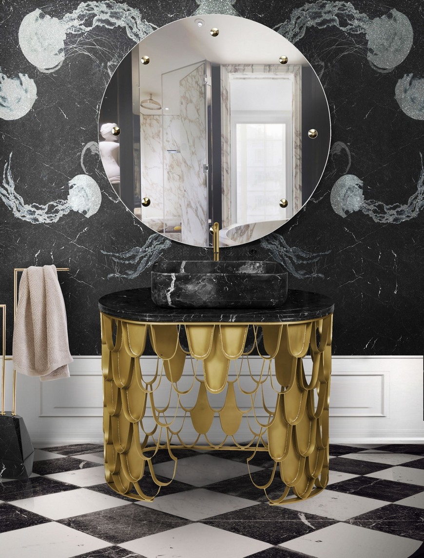 Be Inspired By These Top Luxury Bathroom Design Ideas For 2020 luxury bathroom design Luxury Bathroom Design: Be Inspired By These Top Ideas For 2020 washbasin 3