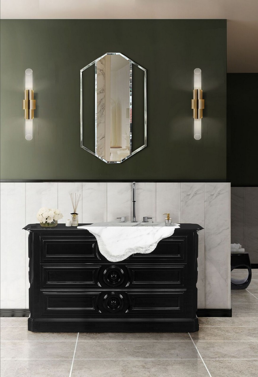 Be Inspired By These Top Luxury Bathroom Design Ideas For 2020 luxury bathroom design Luxury Bathroom Design: Be Inspired By These Top Ideas For 2020 washbasin 4