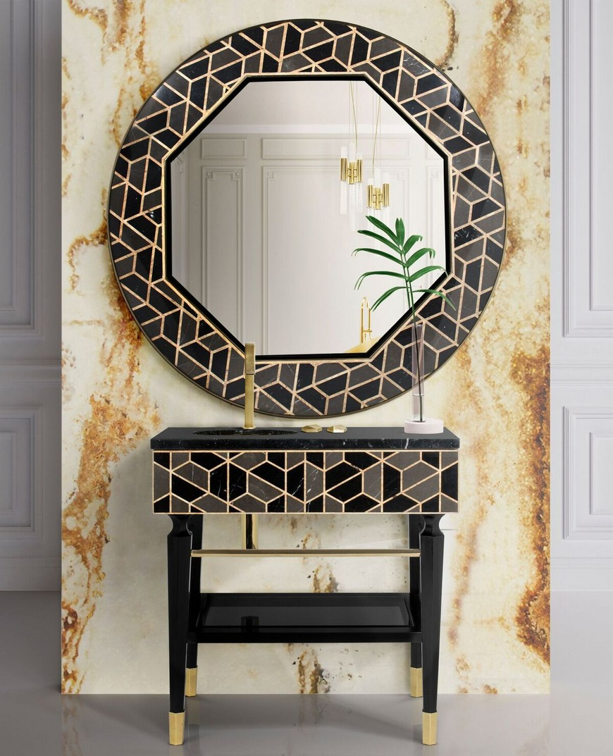 Be Inspired By These Top Luxury Bathroom Design Ideas For 2020 luxury bathroom design Be Inspired By These Top Luxury Bathroom Design Ideas For 2020 washbasin 5