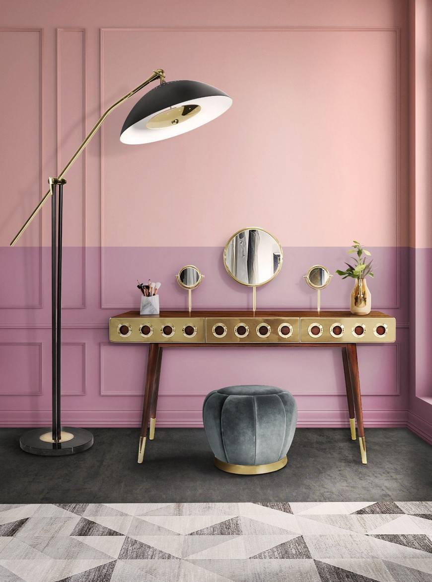 Dressing Table, closet, closet decor, closet decoration, Maison Valentina, bathroom decor, bathroom decoration dressing table The Ultimate Guide to Build Your Closet: Pick the Best Dressing Table 10 Bespoke Dressing Tables To Glam Up Your Luxurious Walk In Closet 7
