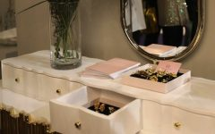 10 Bespoke Dressing Tables To Glam Up Your Luxurious Walk-In Closet