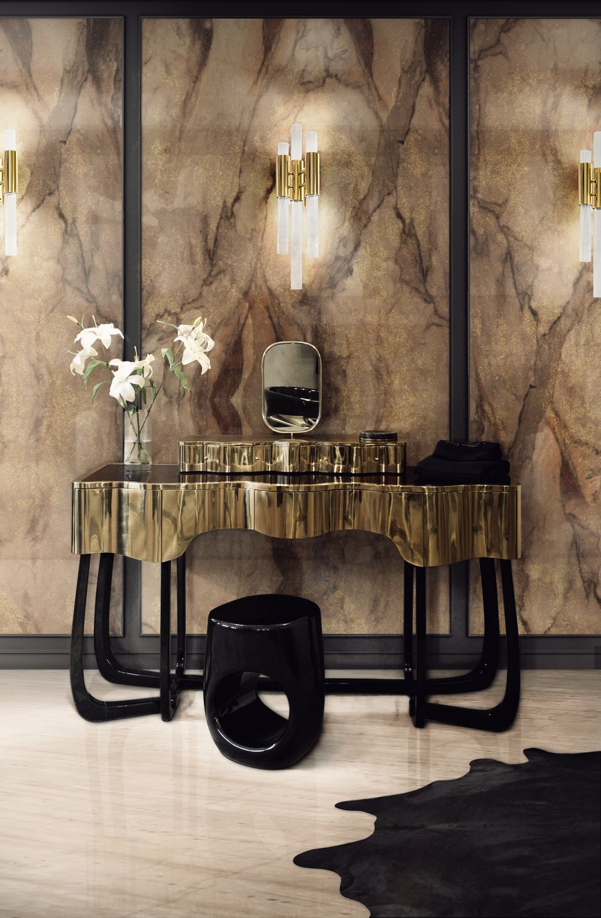 Dressing Table, closet, closet decor, closet decoration, Maison Valentina, bathroom decor, bathroom decoration dressing table The Ultimate Guide to Build Your Closet: Pick the Best Dressing Table 10 Bespoke Dressing Tables To Glam Up Your Luxurious Walk In Closet