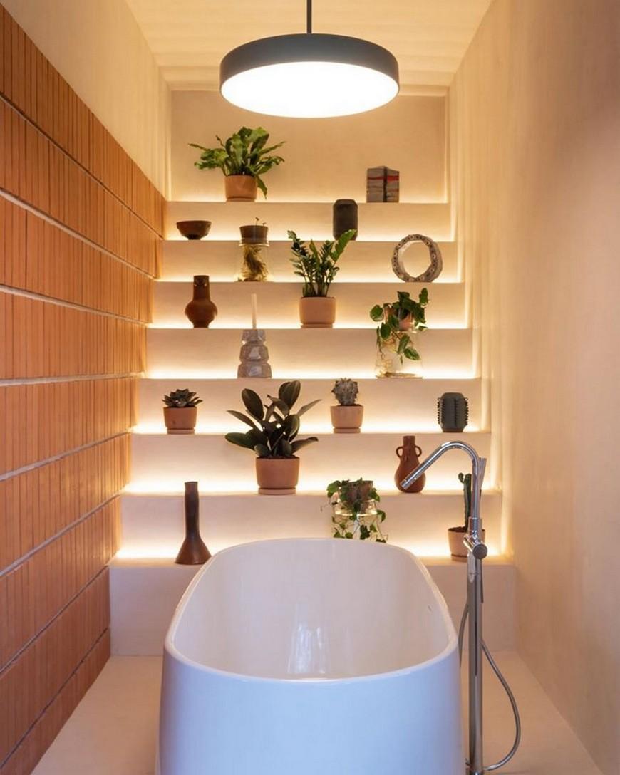 Inside The Trendy Open-Concept Bathroom Design By Comité de Proyectos comité de proyectos Inside The Trendy Open-Concept Bathroom Design By Comité de Proyectos Inside The Trendy Open Concept Bathroom Design By Comit   de Proyectos 5