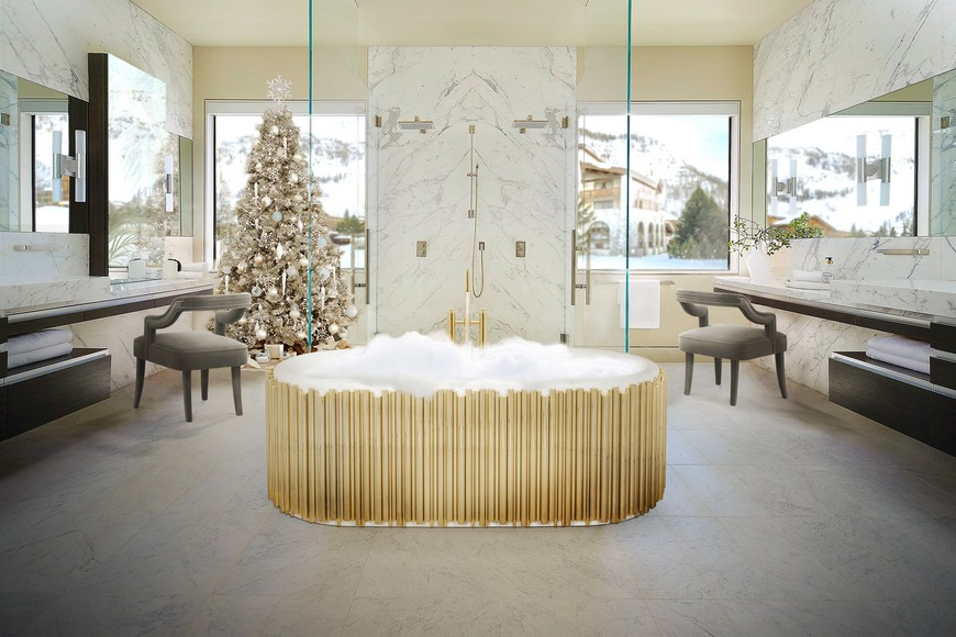 Reinvent Your Luxury Bathroom Project With These Holiday Decor Vibes luxury bathroom Reinvent Your Luxury Bathroom Project With These Holiday Decor Vibes Reinvent Your Luxury Bathroom Project With These Holiday Decor Vibes 5