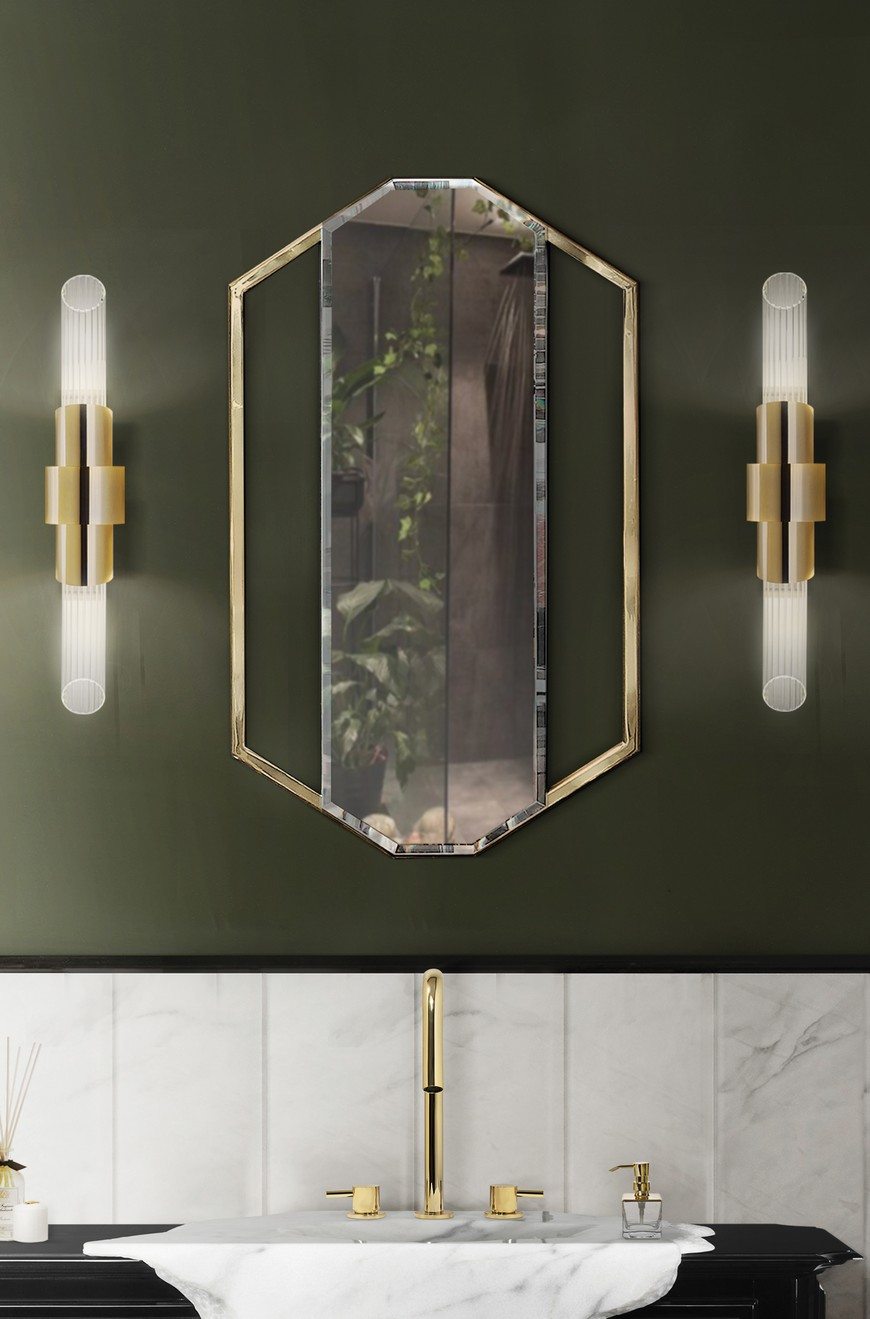 5 Gold-Accented Wall Mirrors To Enhance Your Luxury Bathroom Decor luxury bathroom 5 Gold-Accented Wall Mirrors To Enhance Your Luxury Bathroom Decor 5 Gold Accented Wall Mirrors To Enhance Your Luxury Bathroom Decor 3