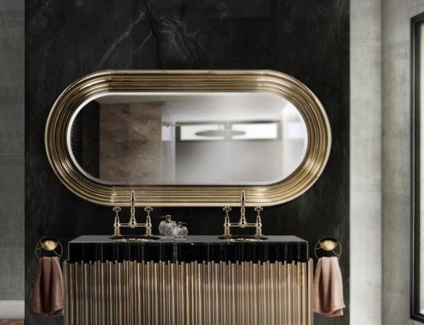 5 Gold-Accented Wall Mirrors To Enhance Your Luxury Bathroom Decor luxury bathroom 5 Gold-Accented Wall Mirrors To Enhance Your Luxury Bathroom Decor 5 Gold Accented Wall Mirrors To Enhance Your Luxury Bathroom Decor capa 600x460
