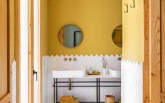 colourful bathrooms bathroom Colourful Bathroom Ideas: Inside Noé Prades' Forest 140767 240x150