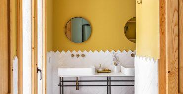 colourful bathrooms bathroom Colourful Bathroom Ideas: Inside Noé Prades' Forest 140767 370x190