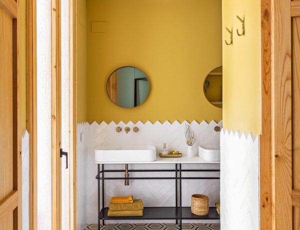 colourful bathrooms bathroom Colourful Bathroom Ideas: Inside Noé Prades' Forest 140767 600x460