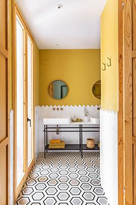 colourful bathrooms bathroom Colourful Bathroom Ideas: Inside Noé Prades' Forest 140767