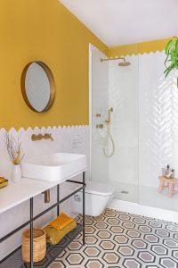colourful bathrooms bathroom Colourful Bathroom Ideas: Inside Noé Prades' Forest 140778 200x300