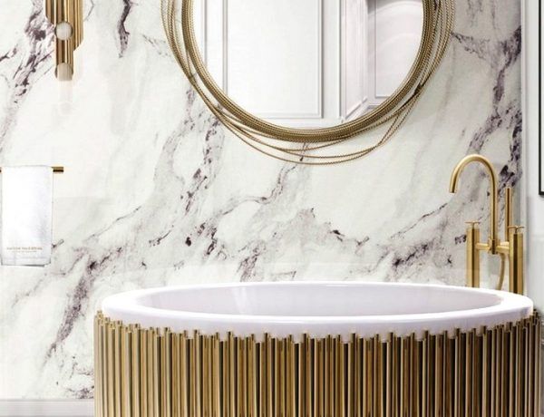 5 Luxury Bathroom Ideas That Are In The CovetED Magazine 2019 Selection