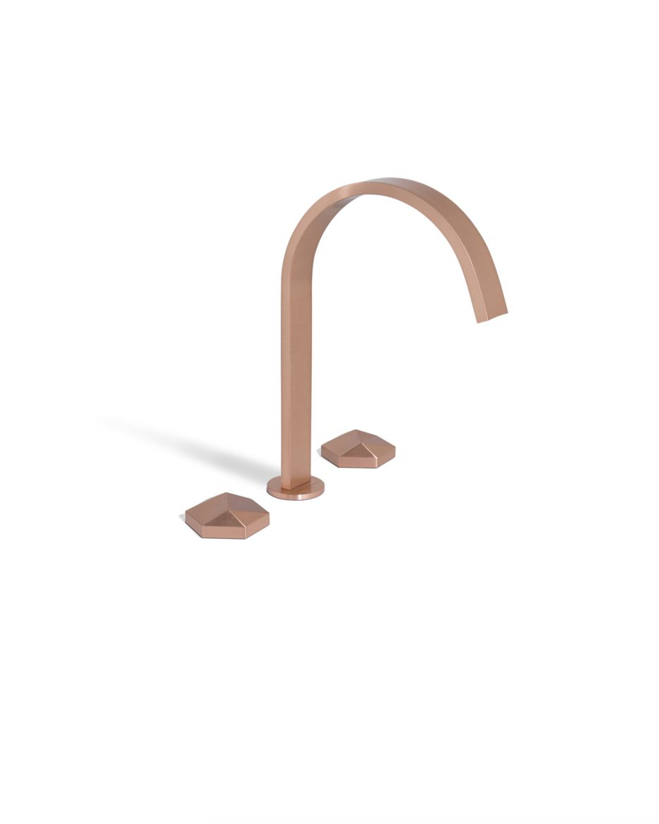 ATO Collection ato collection Taps: ATO Collection by Maison Valentina diamond three hole mixer tap 2 HR 1 scaled