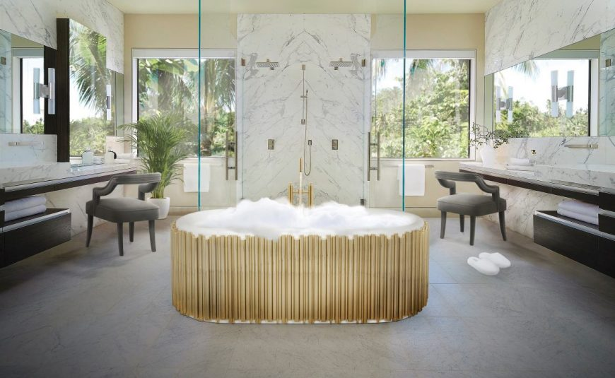 hygge Creating Hygge-Inspired Bathrooms: 4 Fundamental Tips Maison Valentina Bathroom scaled 870x535