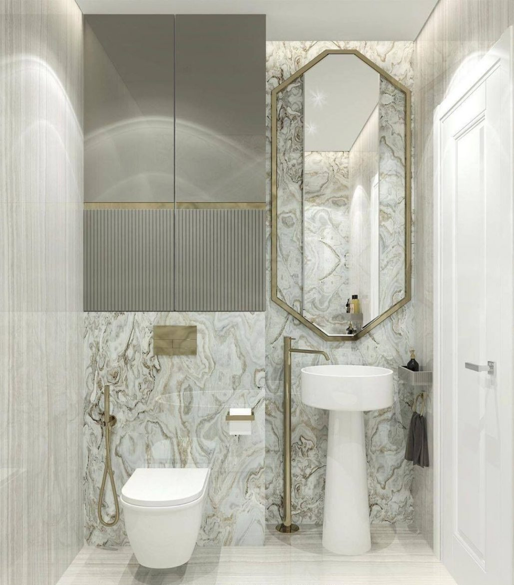 maximize space in the bathroom, maison valentina, vessel sink, space, bathroom  Maximize the Space In Your Bathroom : 5 Tips and Tricks Tips for Maximizing Bathroom Space Danmig 2 scaled