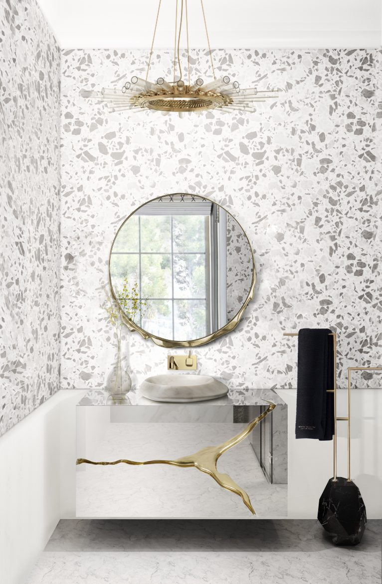 small bathroom decors 6 Ideas to Create Small Bathroom Decors that Will Make a Statement 10 bathrooms to make a statement 5 scaled