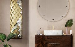 small bathroom decors 6 Ideas to Create Small Bathroom Decors that Will Make a Statement Bathroom with Wood Accents 4 2 240x150