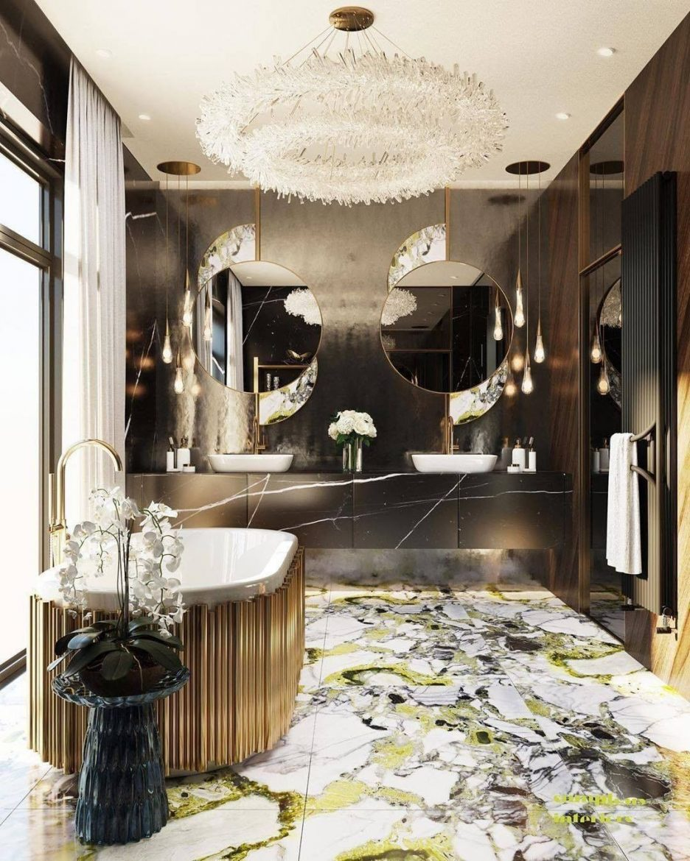 Sumptuous Bathroom, maison valentina, bathtub, design