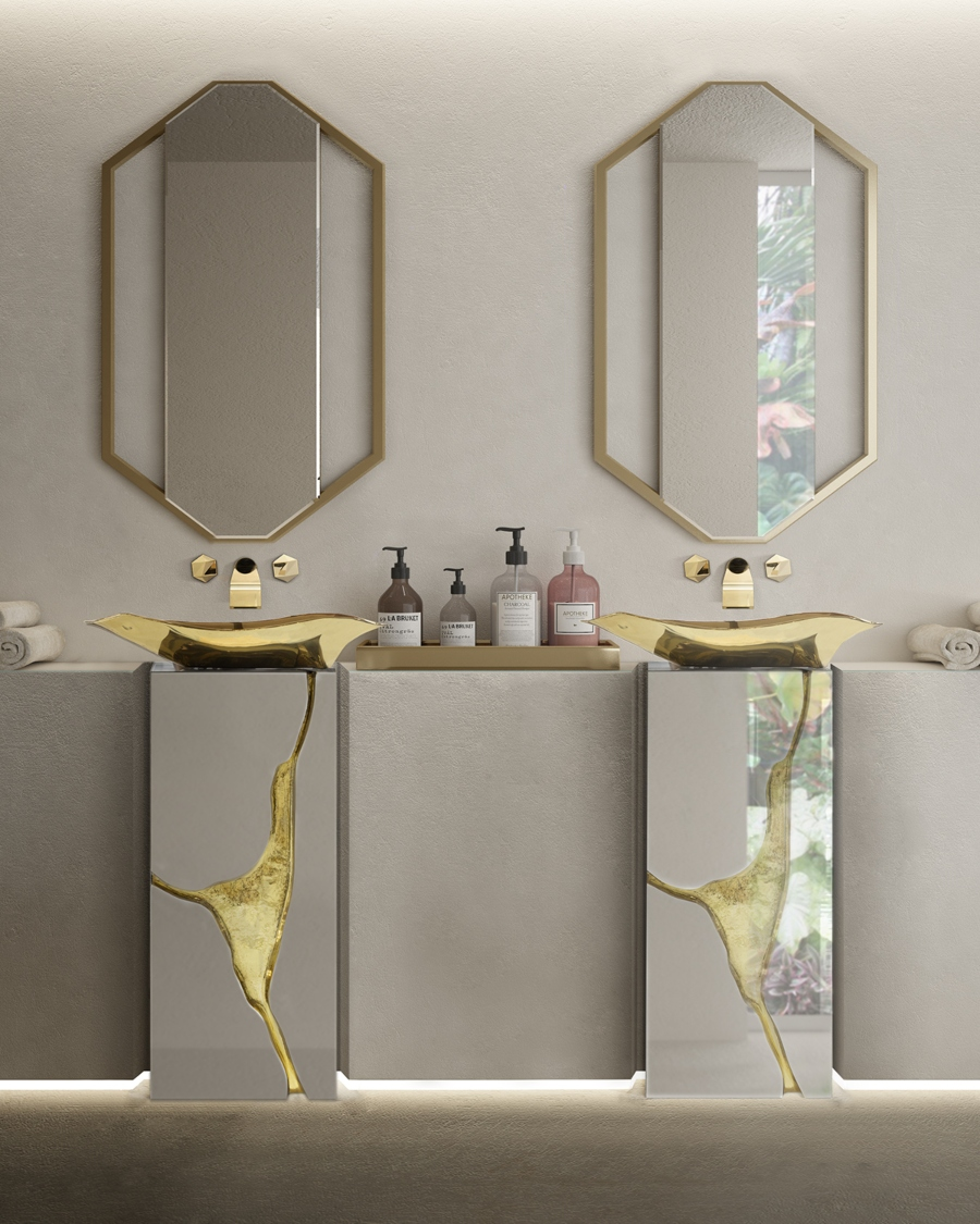Glamorous Freestandings  freestandings 15 Freestandings That Bring Extra Glamour to Your Bathroom Lapiaz Bathroom freestandings
