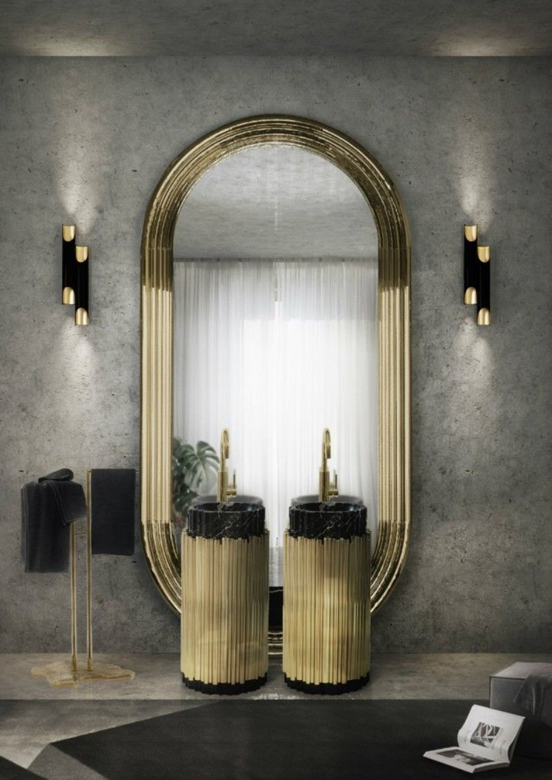 Glamorous Freestandings  freestandings 15 Freestandings That Bring Extra Glamour to Your Bathroom glamoroud freestandings
