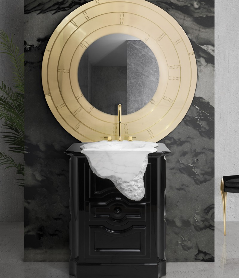Glamorous Freestandings  freestandings 15 Freestandings That Bring Extra Glamour to Your Bathroom glamorous freestandings2