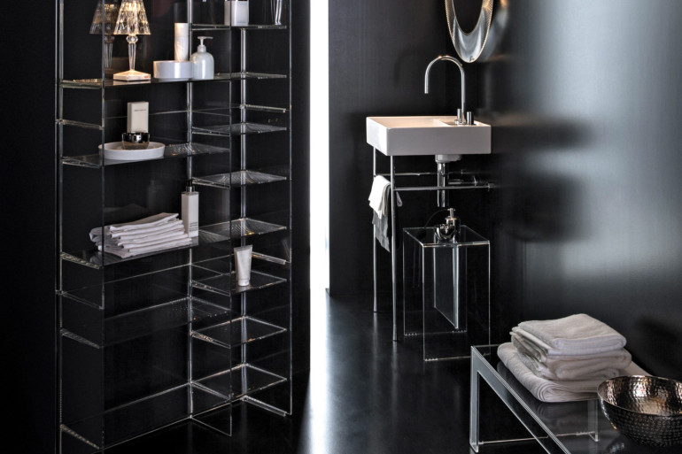 Glamorous Freestandings  freestandings 15 Freestandings That Bring Extra Glamour to Your Bathroom kartell by laufen floor standing washbasin 3