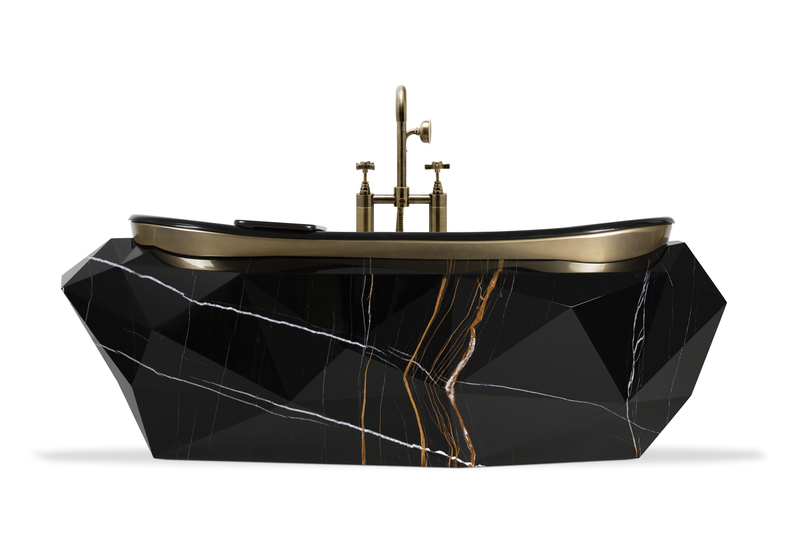 iqosa IQOSA Luxury Projects That Bring The Fierceness To your Bathroom Diamond Bathutb 5