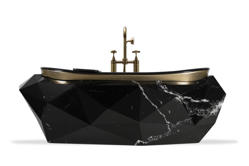 zodiac Find Out Which Luxury Bathroom Look Matches Your Zodiac! Diamond Bathutb 7