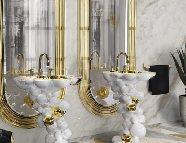 15 Elegant Washbasins to Look Out for in 2021 incredible washbasins 15 Incredible Washbasins that will Amaze You In 2021 newton freestand colosseum mirror 1 600x460